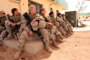 From a feminist--http://www.greanvillepost.com/2013/01/27/on-women-in-military-combat/