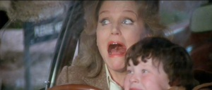 """The Omen"" with Lee Remick and Harvey Stephens.  from http://lecinemadreams.blogspot.com/"